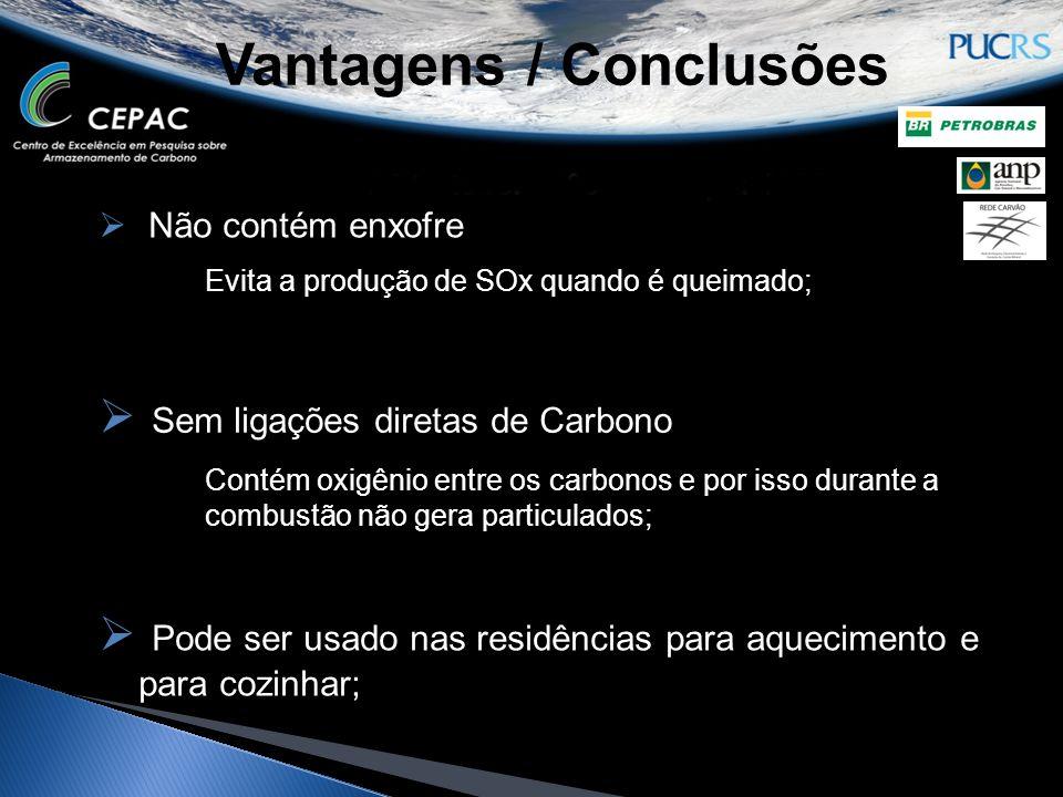 Vantagens / Conclusões