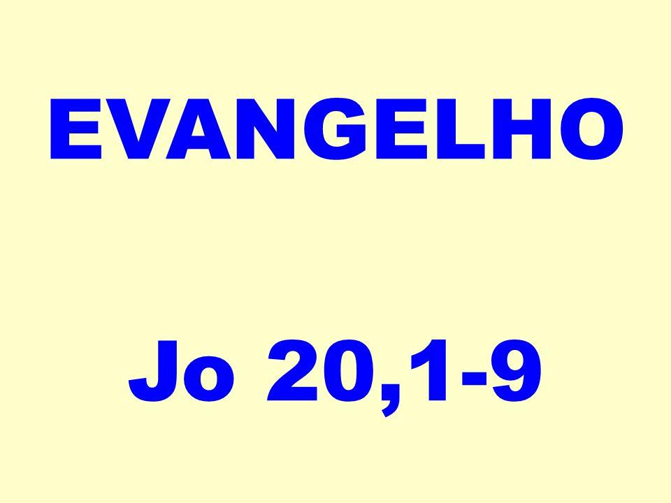 EVANGELHO Jo 20,1-9
