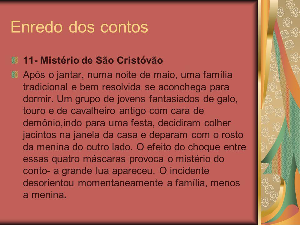 Enredo dos contos 11- Mistério de São Cristóvão