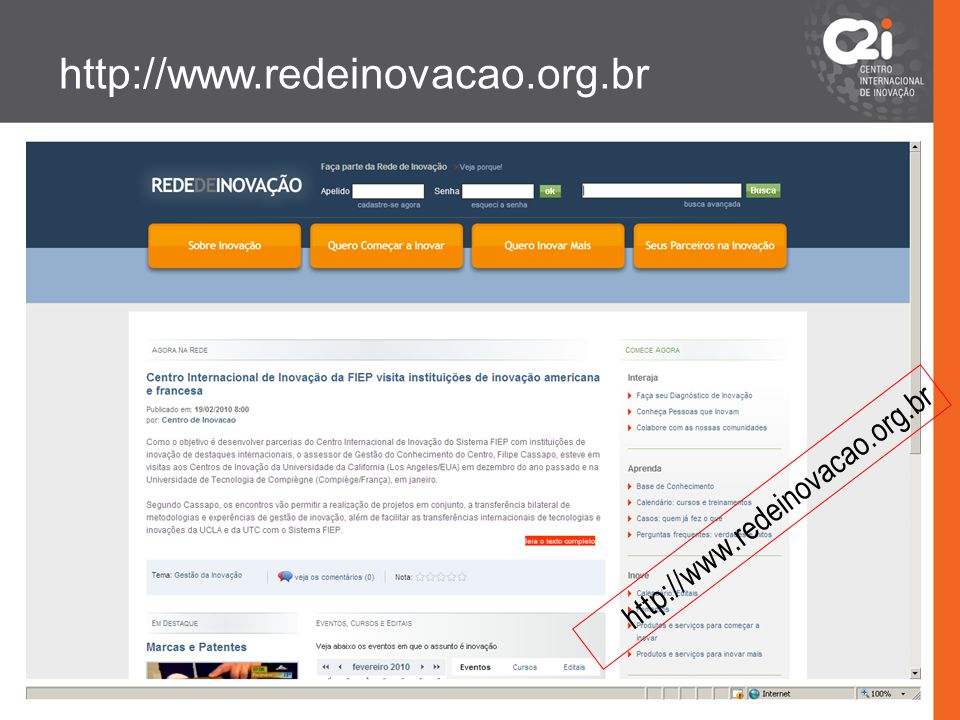 http://www.redeinovacao.org.br http://www.redeinovacao.org.br