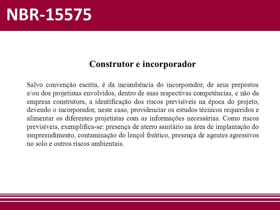 Construtor e incorporador