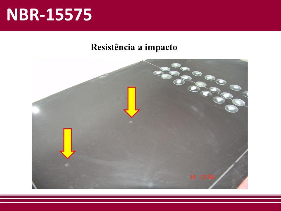 NBR-15575 Resistência a impacto