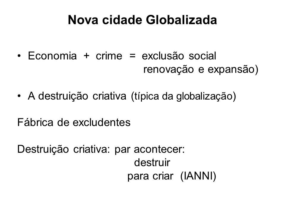 Nova cidade Globalizada