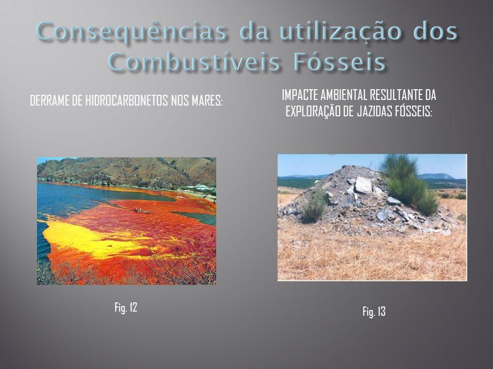 Consequências da utilização dos Combustíveis Fósseis