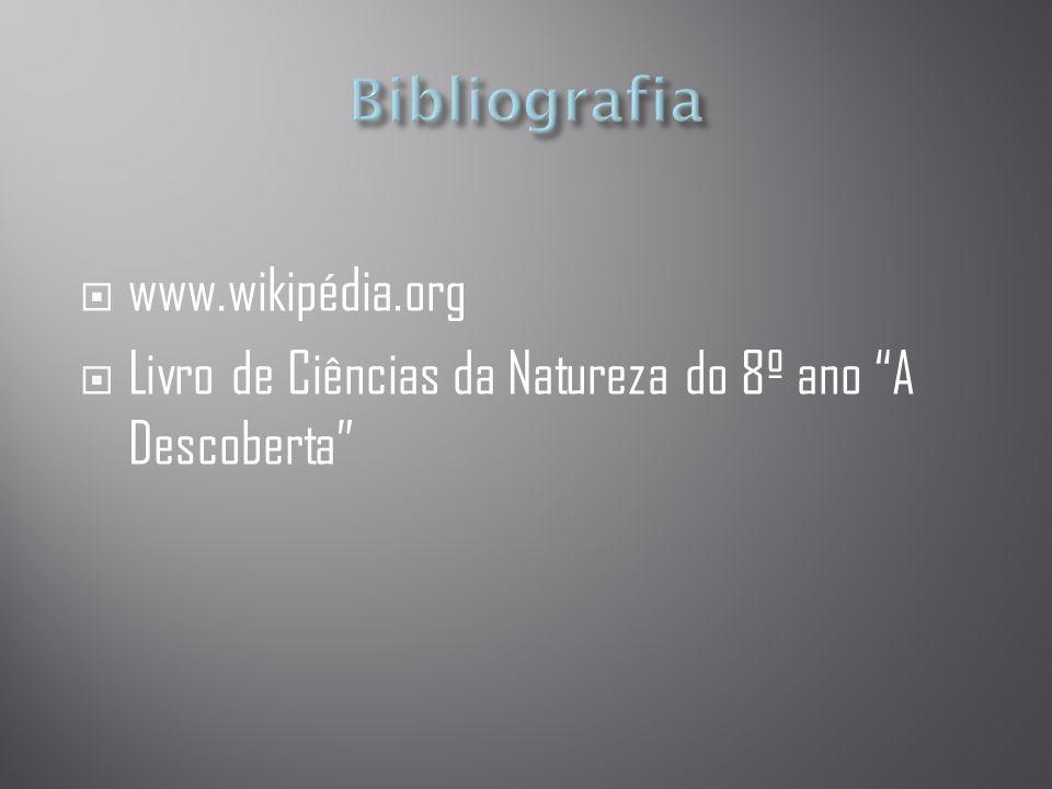 Bibliografia www.wikipédia.org