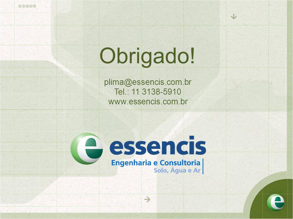 Obrigado! plima@essencis.com.br Tel.: 11 3138-5910 www.essencis.com.br