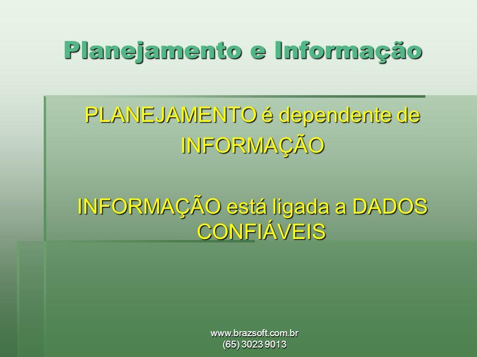 Planejamento e Informação