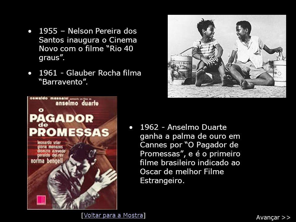 1961 - Glauber Rocha filma Barravento .
