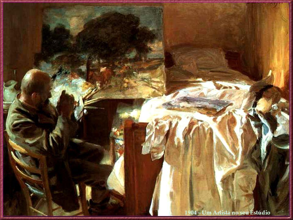 1904 – Um Artista no seu Estúdio
