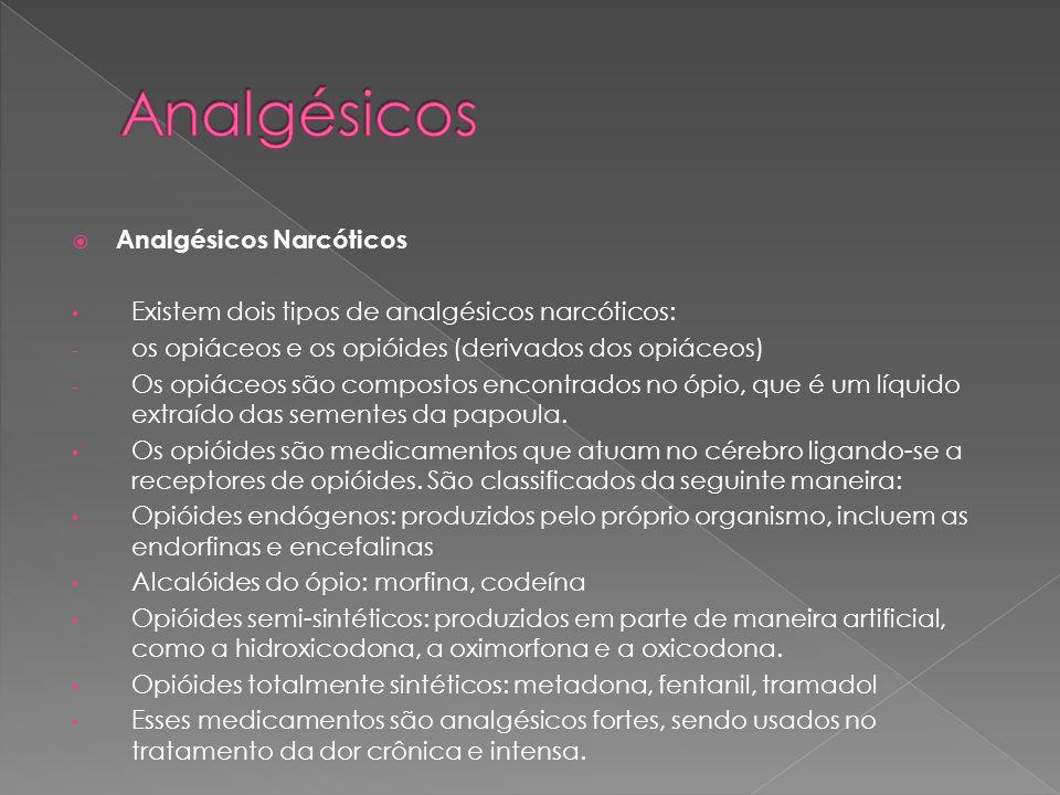Analgésicos Analgésicos Narcóticos