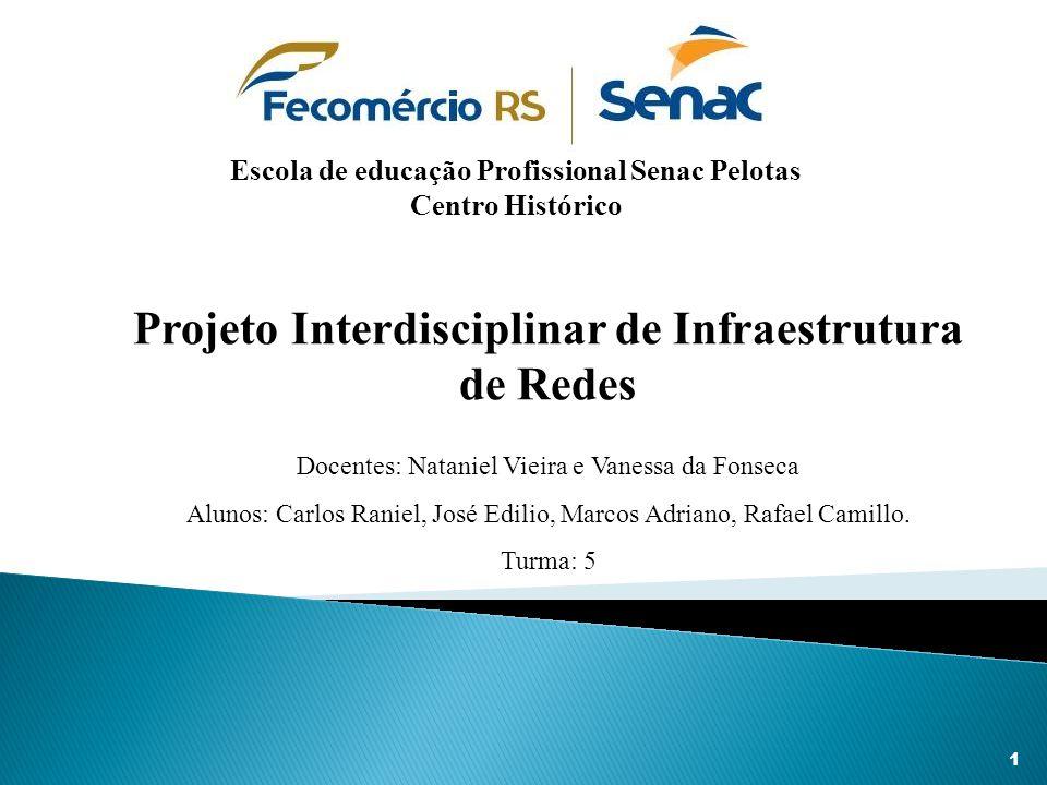 Projeto Interdisciplinar de Infraestrutura de Redes