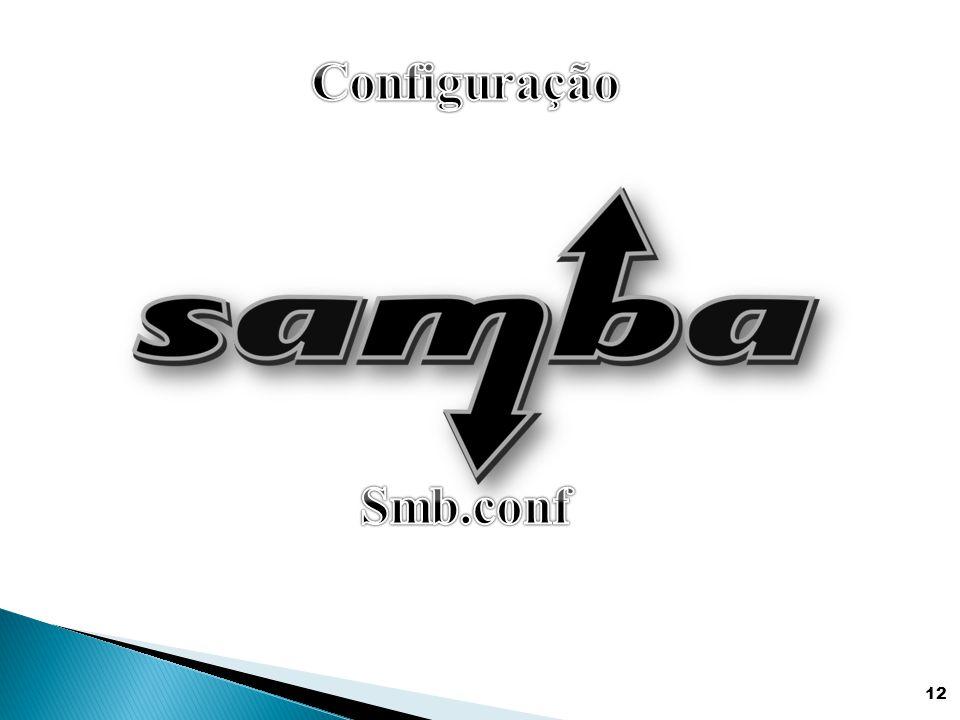 Configuração Smb.conf