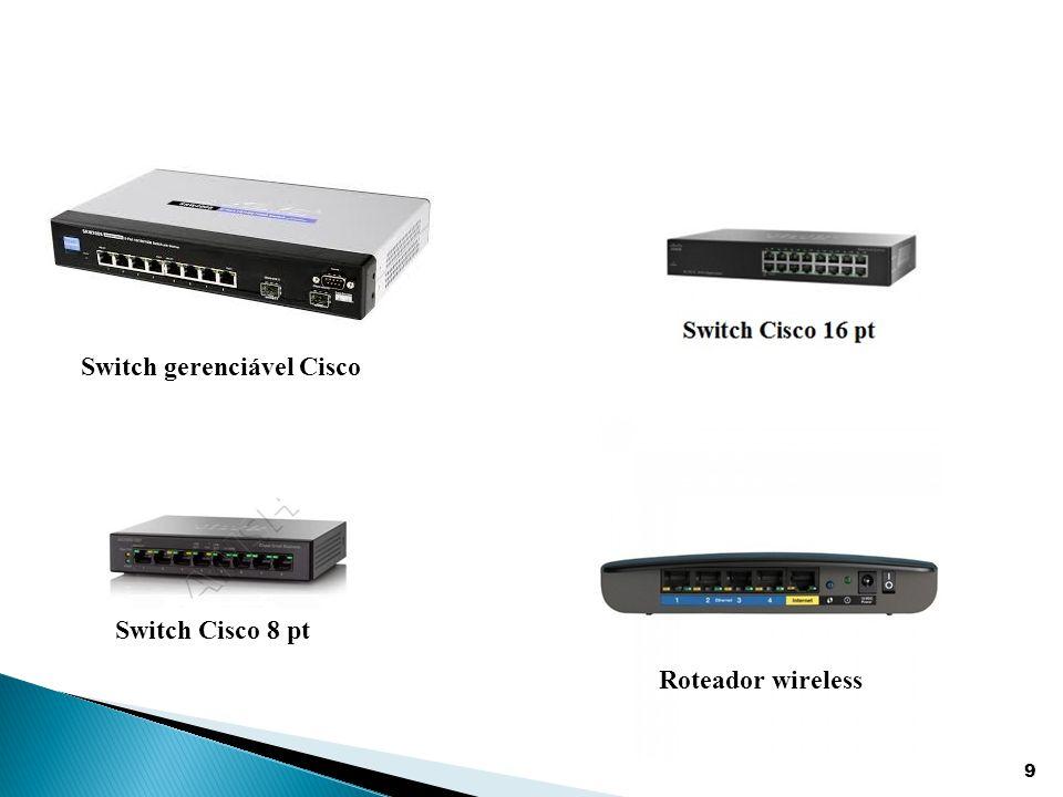 Switch gerenciável Cisco