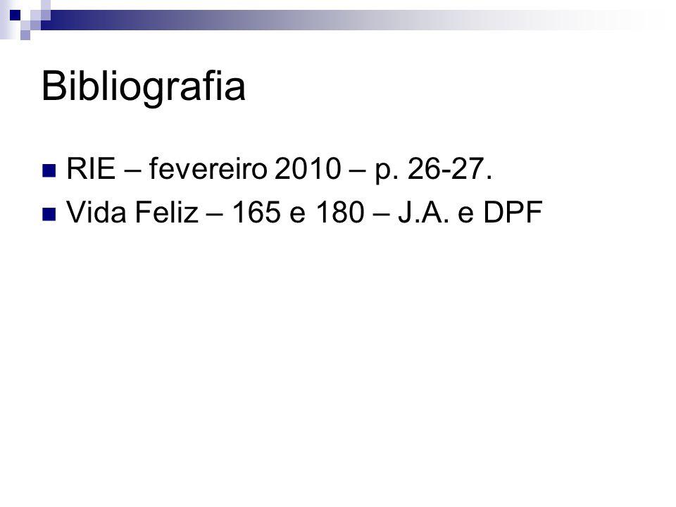 Bibliografia RIE – fevereiro 2010 – p. 26-27.