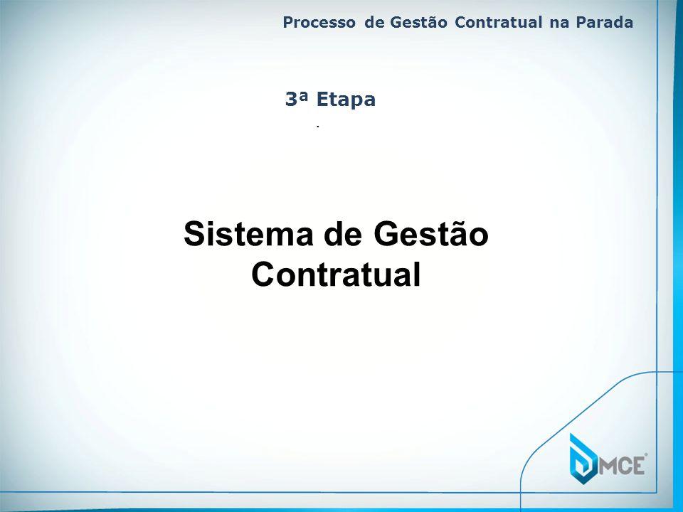 Sistema de Gestão Contratual