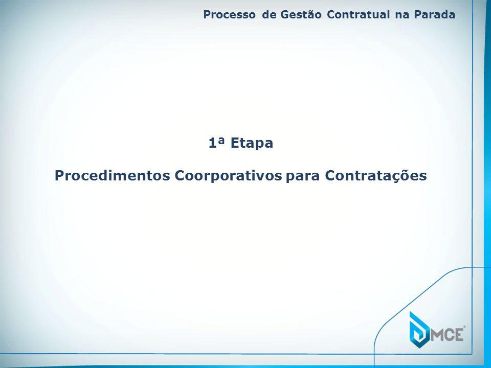 Procedimentos Coorporativos para Contratações