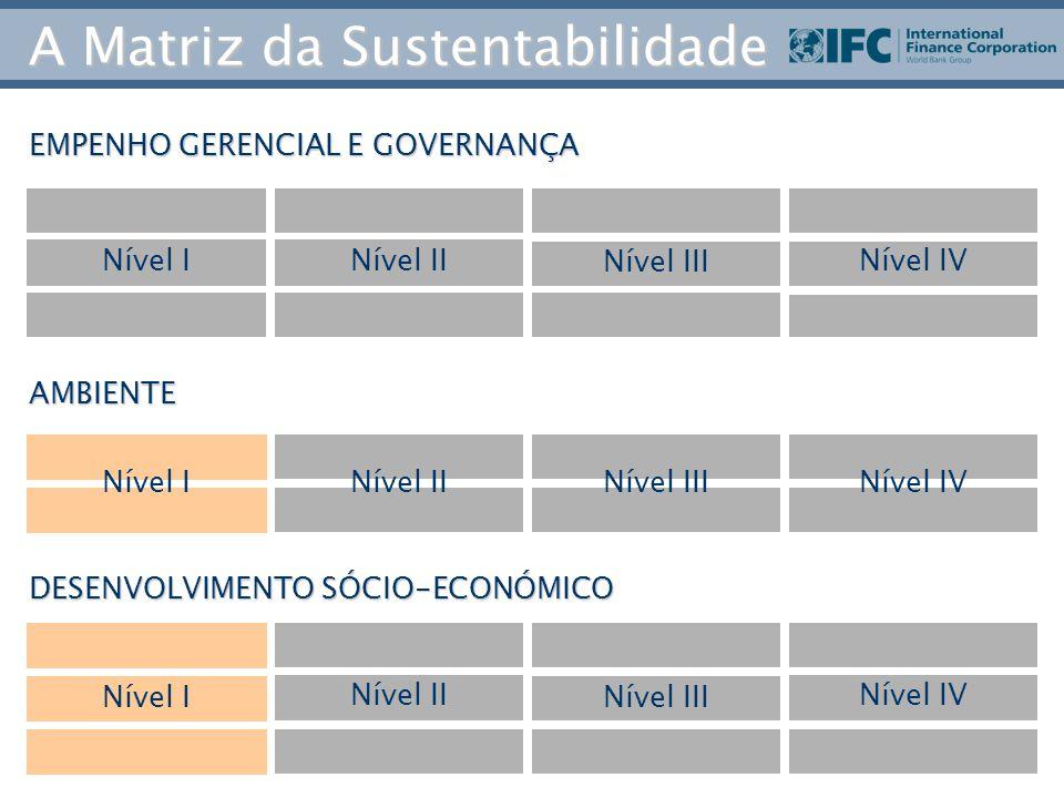 A Matriz da Sustentabilidade