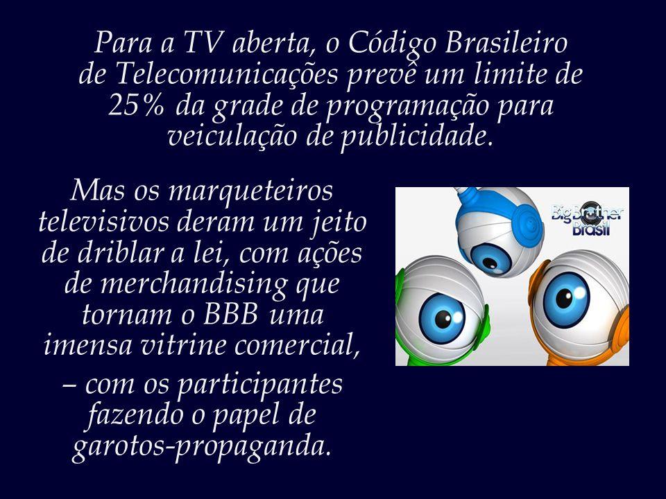 Para a TV aberta, o Código Brasileiro