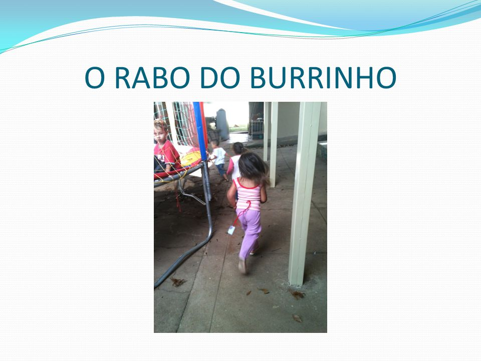 O RABO DO BURRINHO
