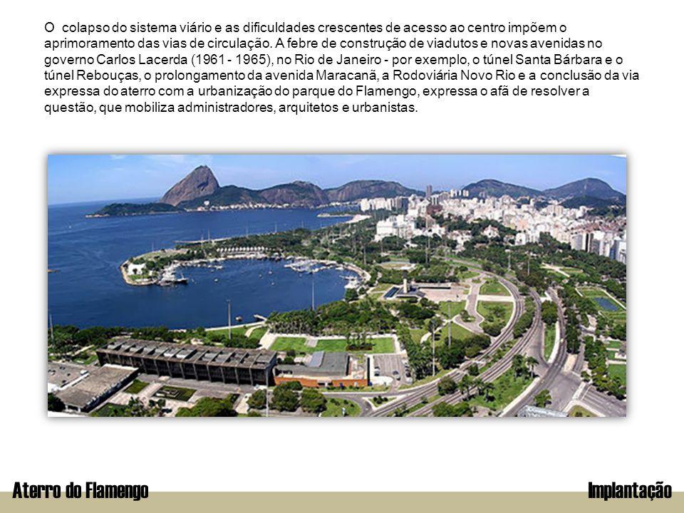 Aterro do Flamengo Implantação