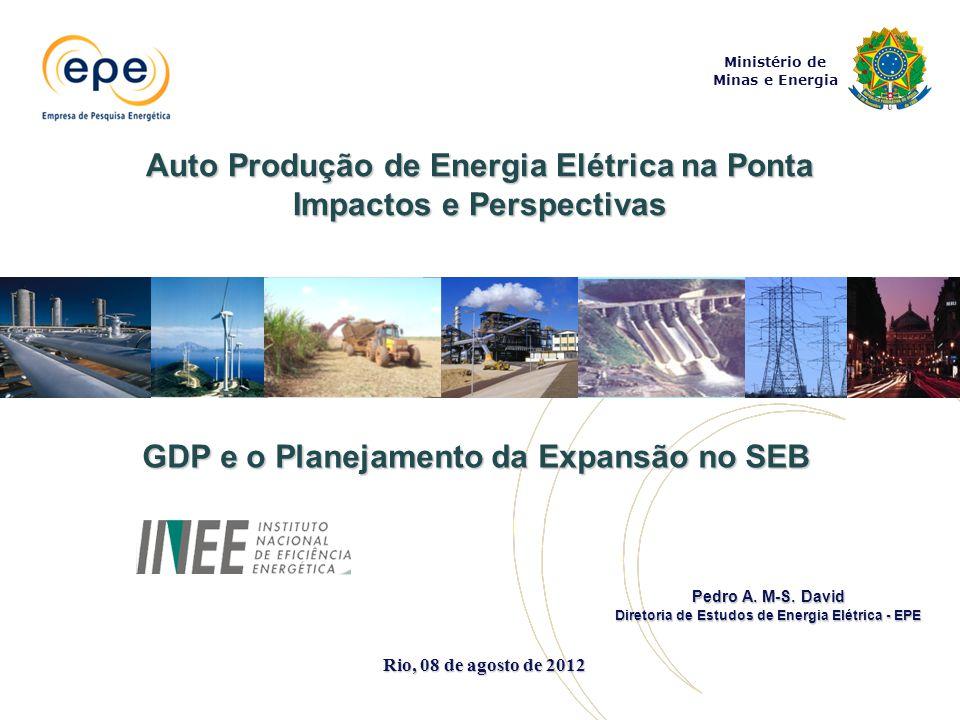 Auto Produção de Energia Elétrica na Ponta Impactos e Perspectivas