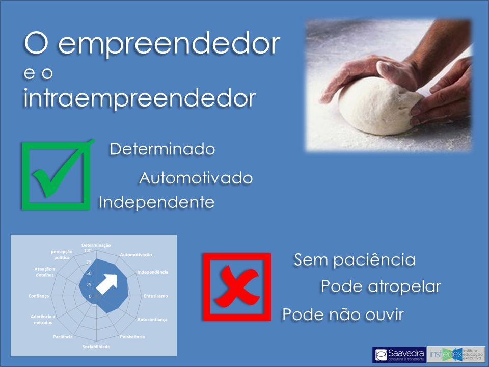   O empreendedor intraempreendedor e o Determinado Automotivado