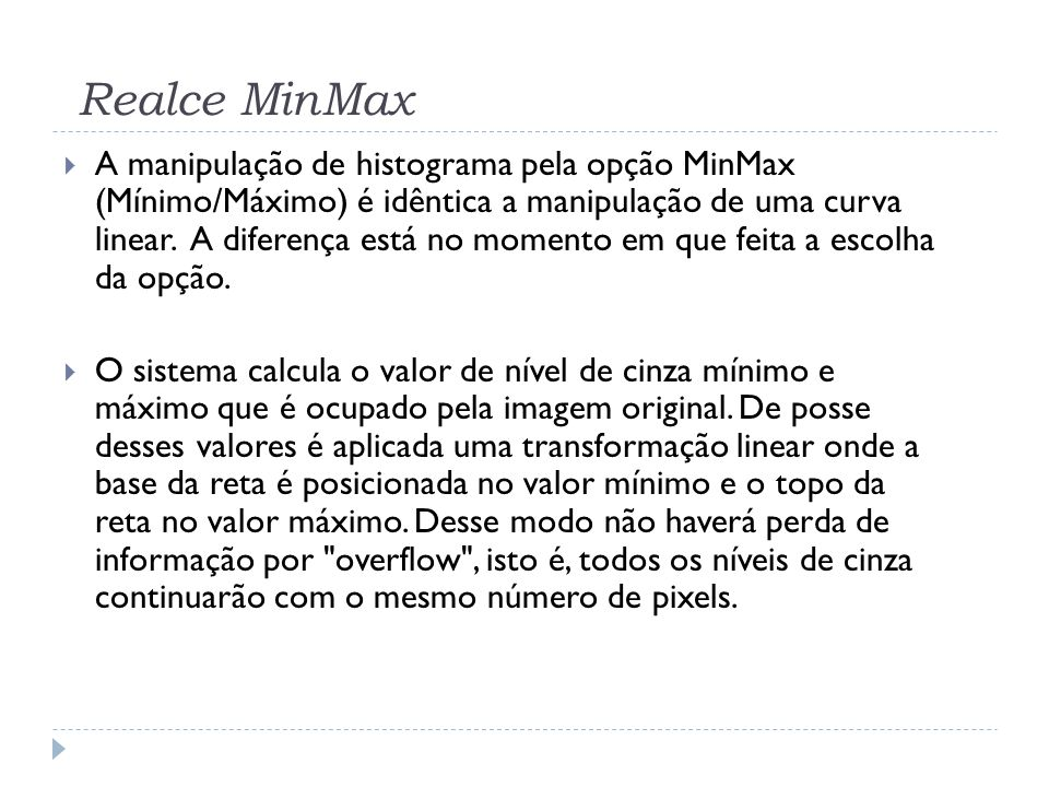 Realce MinMax