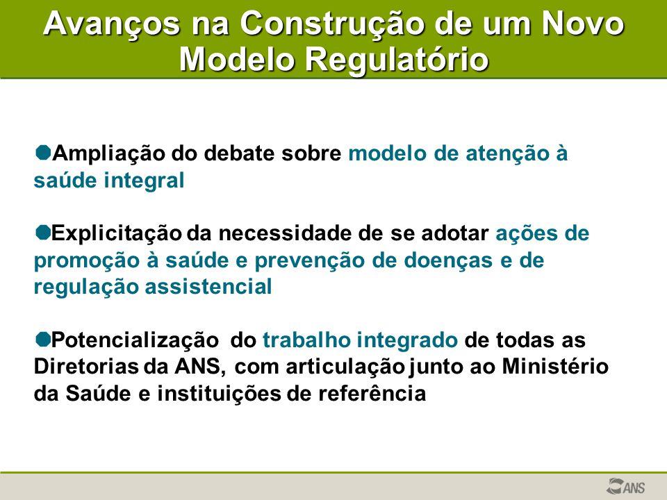 Avanços na Construção de um Novo Modelo Regulatório