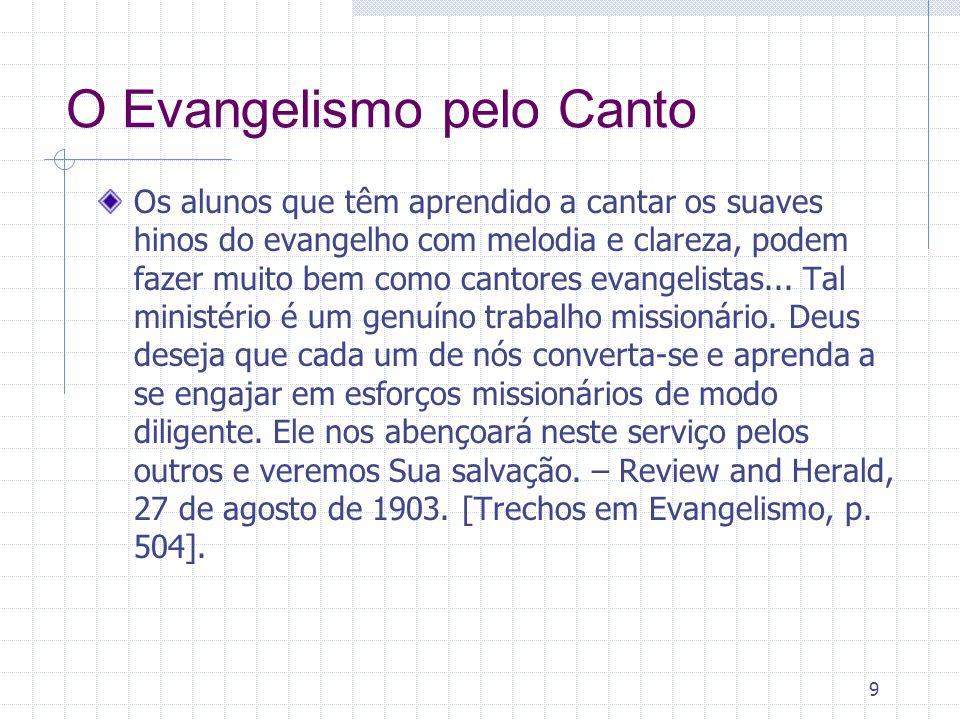 O Evangelismo pelo Canto