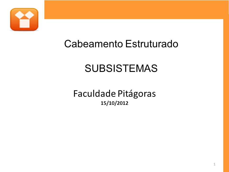 Faculdade Pitágoras 15/10/2012