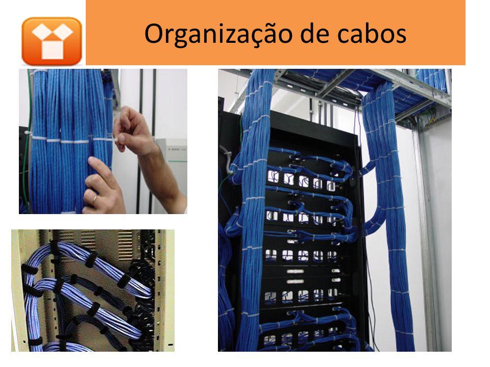 Organização de cabos