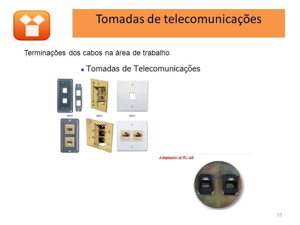 Tomadas de telecomunicações