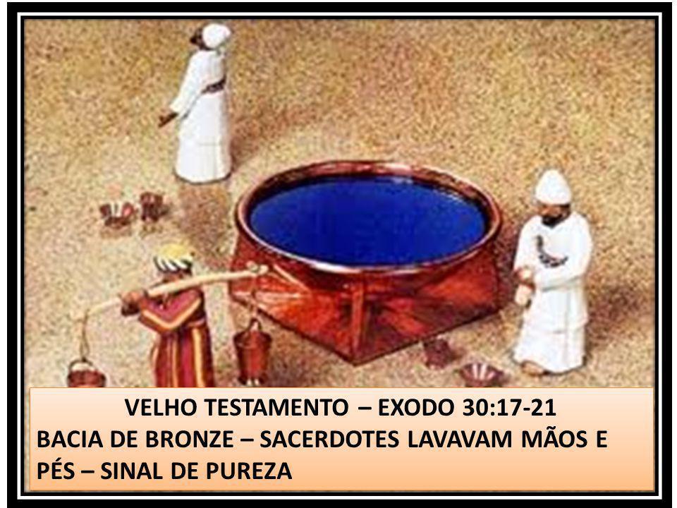 VELHO TESTAMENTO – EXODO 30:17-21