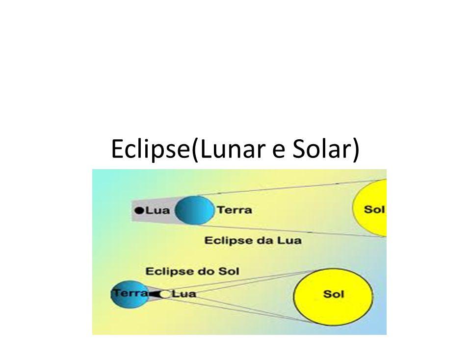 Eclipse(Lunar e Solar)