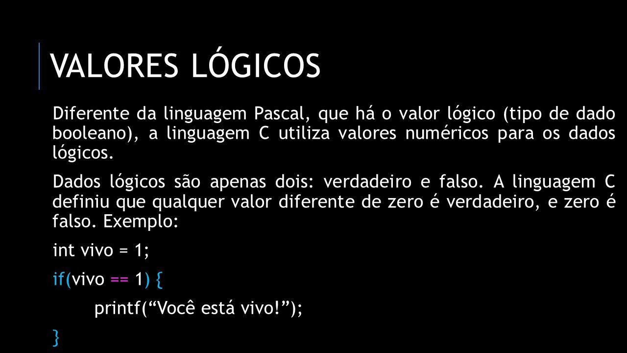 Valores lógicos