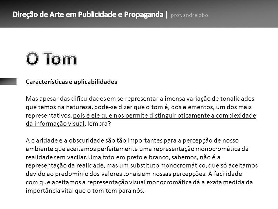 O Tom Características e aplicabilidades