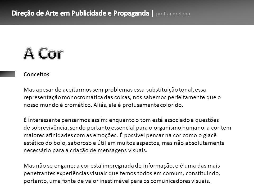 A Cor Conceitos.