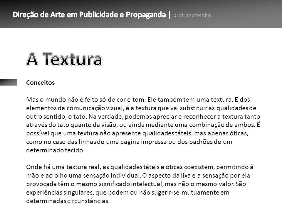 A Textura Conceitos.