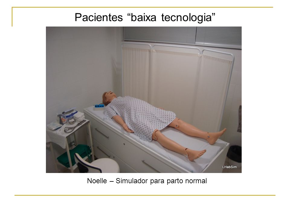 Pacientes baixa tecnologia