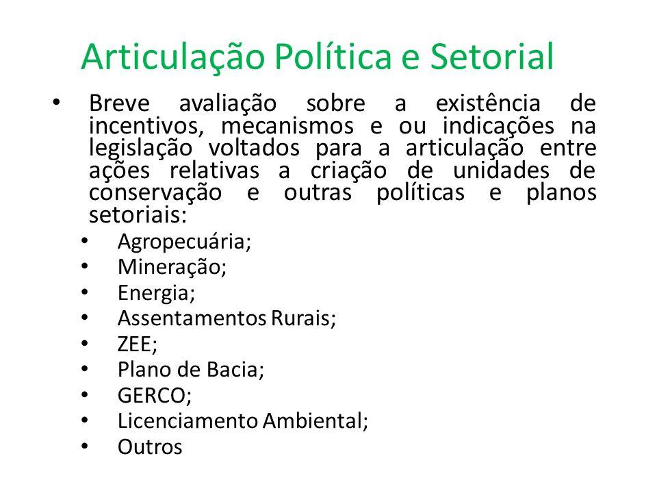 Articulação Política e Setorial