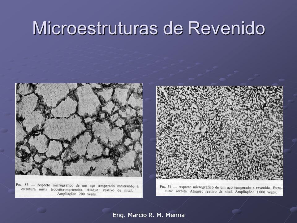 Microestruturas de Revenido