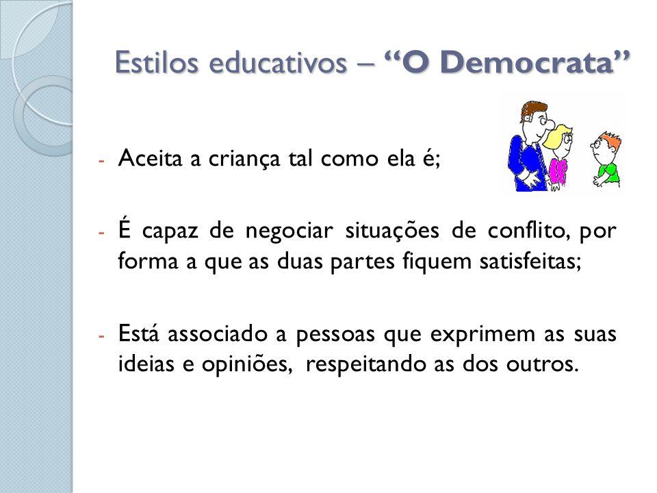Estilos educativos – O Democrata