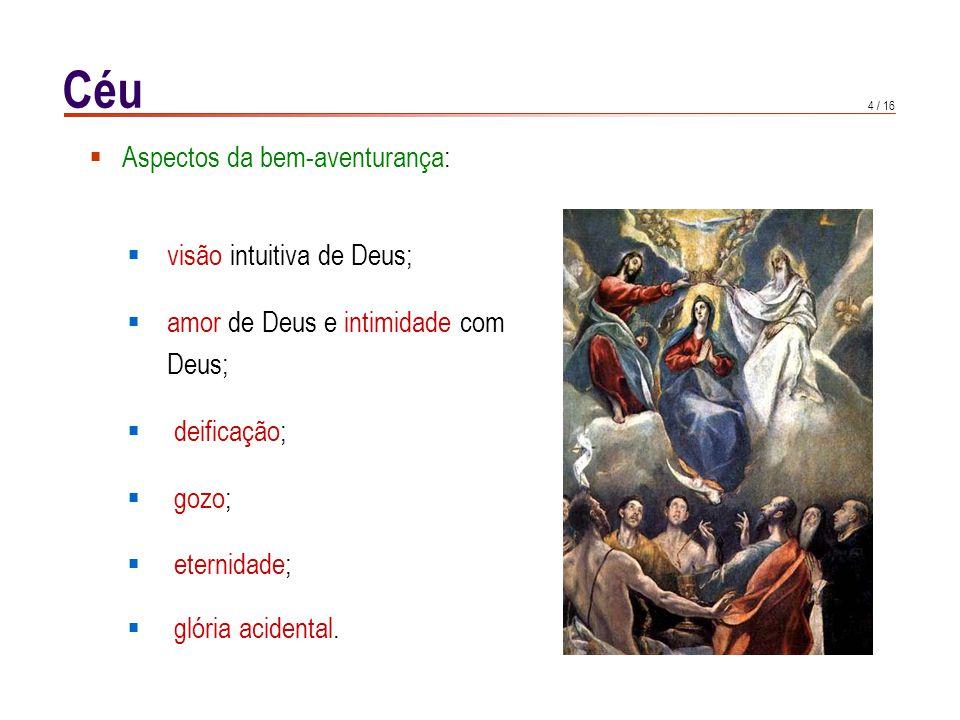 A visão intuitiva de Deus, 1