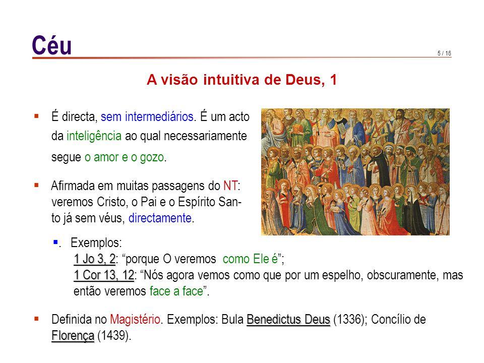 A visão intuitiva de Deus, 2