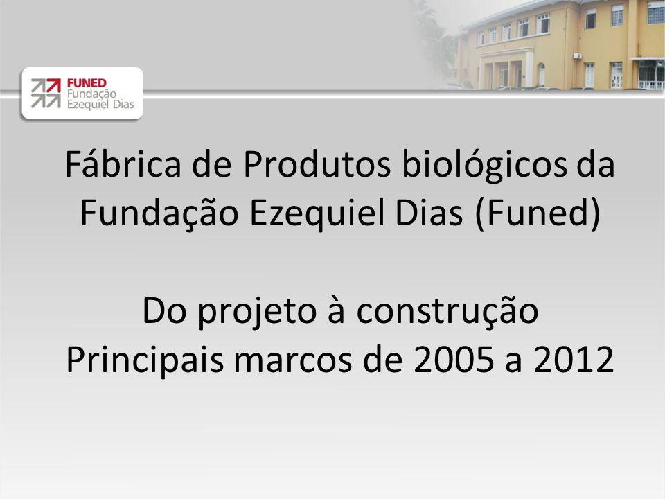 Fábrica de Produtos biológicos da Fundação Ezequiel Dias (Funed)