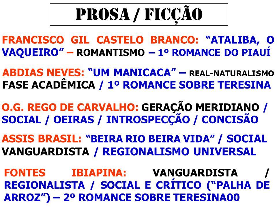 PROSA / FICÇÃO ASSIS BRASIL: BEIRA RIO BEIRA VIDA / SOCIAL