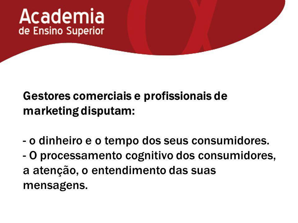 Gestores comerciais e profissionais de marketing disputam: