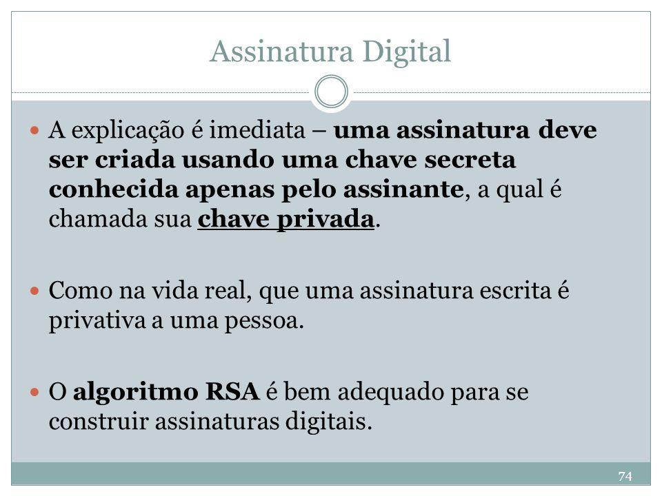 Assinatura Digital