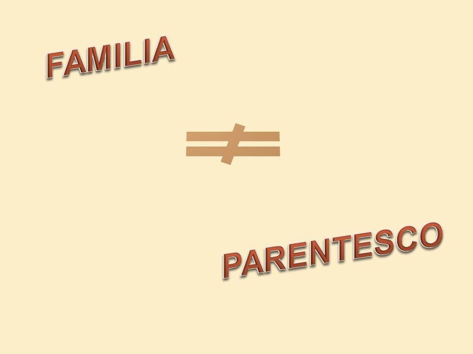 FAMILIA PARENTESCO
