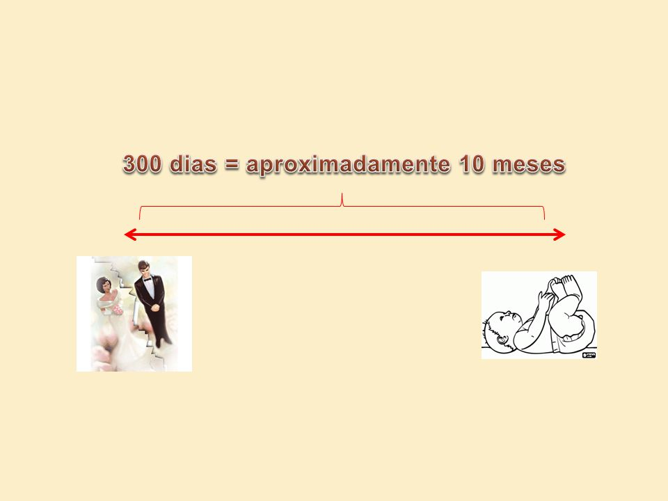 300 dias = aproximadamente 10 meses